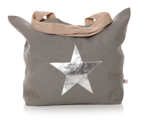 Shruti Star Burst Shopper Natural