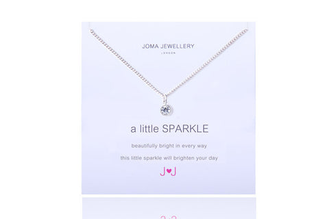 JOMA A Little Sparkle  Necklace - Violetmai Jewellery and Gifts