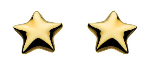 Dew Mini  Sterling Silver Star Studs - Violetmai Jewellery and Gifts