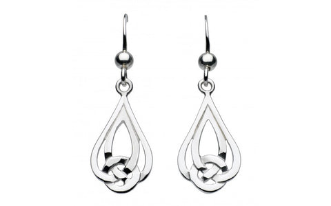 Heritage Caitlin Double Tear Knot Earrings - Violetmai Jewellery and Gifts