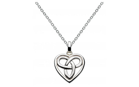 Heritage Aamor Celtic Heart Necklace - Violetmai Jewellery and Gifts