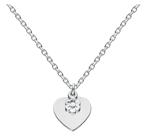 Kit Heath Kids Flower Heart Necklace