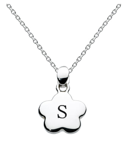 Kit Heath Kids Sterling Silver Initial Necklace