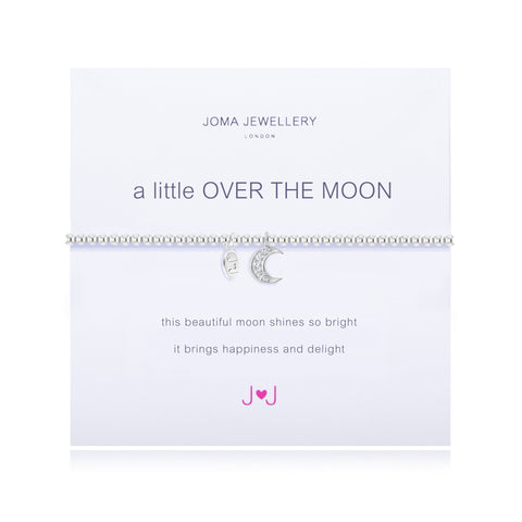 JOMA A Little Over the Moon Bracelet - Violetmai Jewellery and Gifts