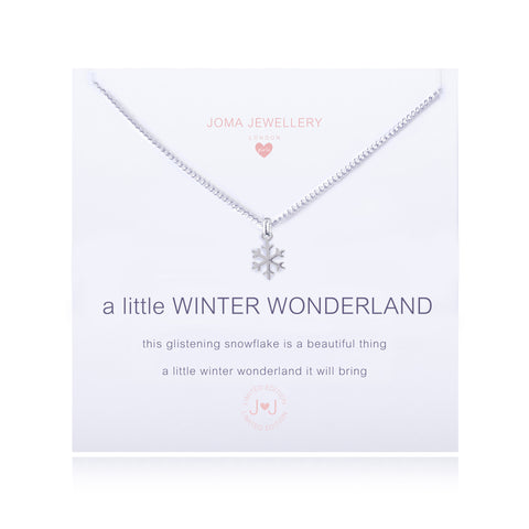 Joma Girls A Little Winter Wonderland Necklace