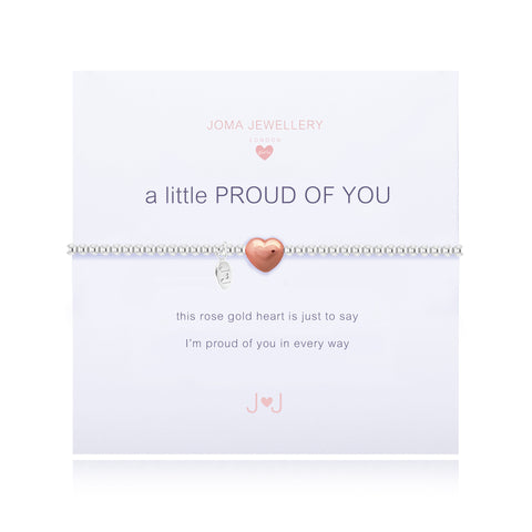 JOMA Girls A Little Proud of You Bracelet - Violetmai Jewellery and Gifts