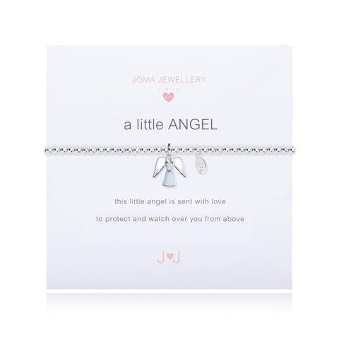 Joma Girls A Little Angel  Bracelet - Violetmai Jewellery and Gifts