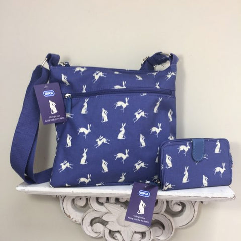 RSPCA Hare Oilcloth Bag