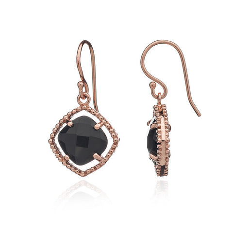 Black Onyx Earrings by Azuni - Violetmai Jewellery and Gifts