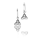 Celtic Lands Sterling Silver Celtic Knot Earrings - Violetmai Jewellery and Gifts