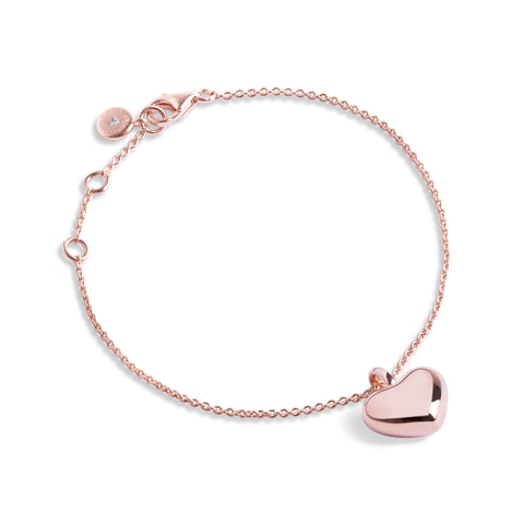 Forever JOMA  Fine True Heart Bracelet - Violetmai Jewellery and Gifts