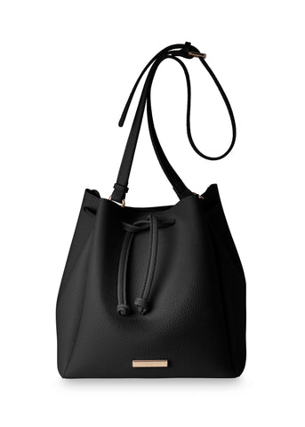 Katie Loxton chloe bucket Bag in Black - Violetmai Jewellery and Gifts