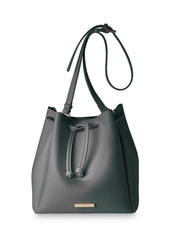 Katie Loxton chloe bucket Bag in Charlcoal Grey - Violetmai Jewellery and Gifts