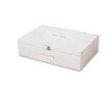 Katie Loxton Large  Jewellery Box in white