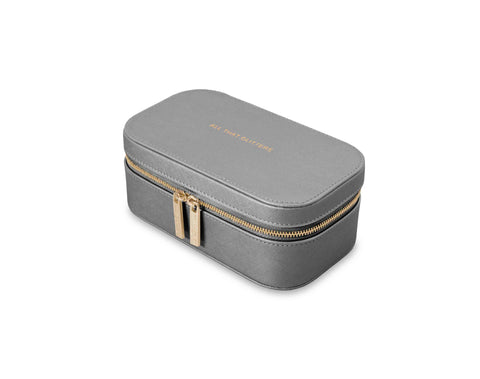 Katie Loxton Small  Jewellery Box in Grey