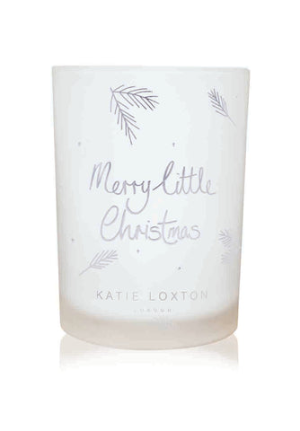 Katie Loxton Merry Christmas Candle
