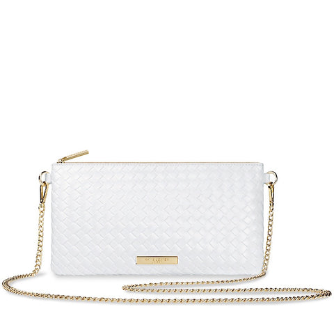 Katie Loxton Freya Cross Body Bag- White