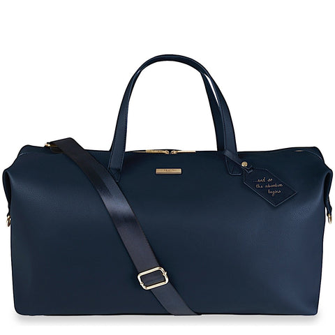 Katie Loxton Weekend Holdall Bag in Navy