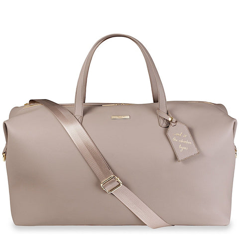 Katie Loxton Weekend Holdall Bag in Taupe