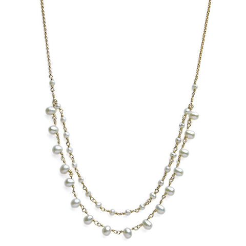 Viv And Ingrid Coco Pearl Necklace - VIOLETMAI - 1