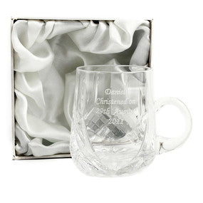 Personalised Engraved Crystal Cup - VIOLETMAI - 1
