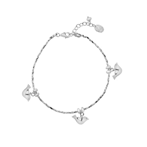 Pure Origins Sterling Silver Cute Bird