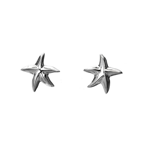 Pure Origins Sterling Silver Starfish Studs