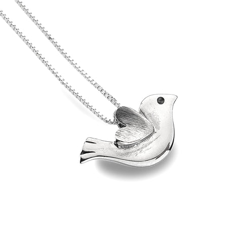 Pure Origins Sterling Silver Bird