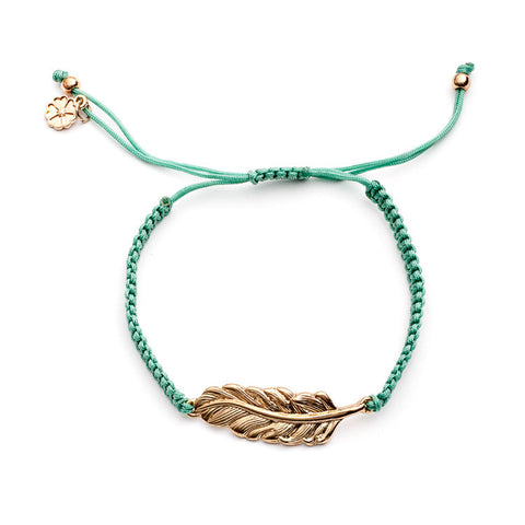 Azuni feather Bracelets in various colours - Violetmai Jewellery and Gifts