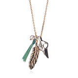 Azuni Native American Crow Necklace - Violetmai Jewellery and Gifts