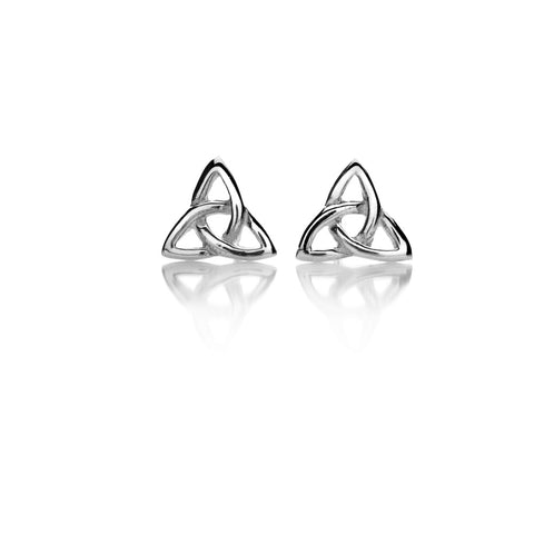 Celtic Lands Sterling Silver Celtic Knot Studs - Violetmai Jewellery and Gifts