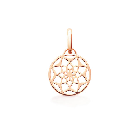 Oak Jewellery Original Dreamcatcher Rose gold Necklace - VIOLETMAI - 1