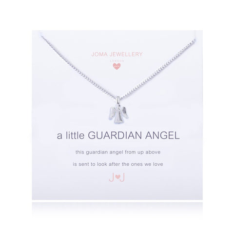 JOMA A Little Guardian Angel Necklace - Violetmai Jewellery and Gifts