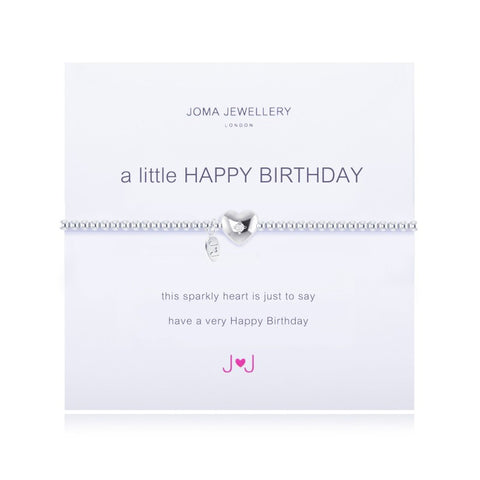 JOMA A Little Happy Birthday Bracelet - Violetmai Jewellery and Gifts