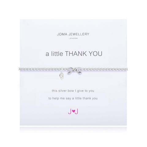 JOMA A Little Thank You Bracelet - Violetmai Jewellery and Gifts