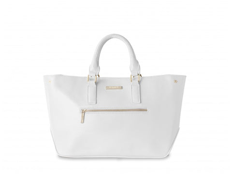 Katie Loxton Adalie Day Bag in White - Violetmai Jewellery and Gifts