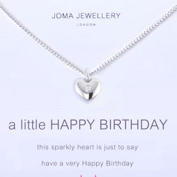 JOMA A Little Happy Birthday Necklace - Violetmai Jewellery and Gifts