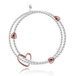 Joma Jewellery Lila Rose Gold Bracelet - Violetmai Jewellery and Gifts
