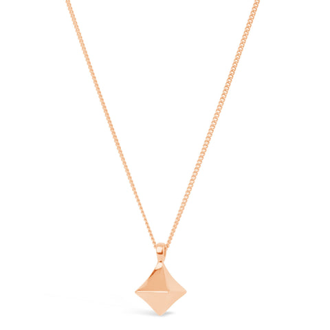 Almaz Rose Gold Vermeil diamond drop by Dinny Hall - Violetmai Jewellery and Gifts