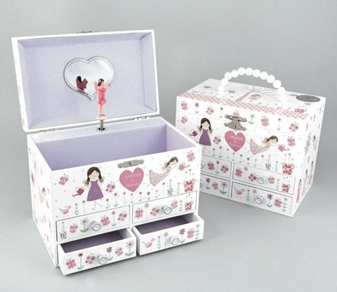 Floss and Rock Childrens Musical Jewellery Box - Violetmai Jewellery and Gifts