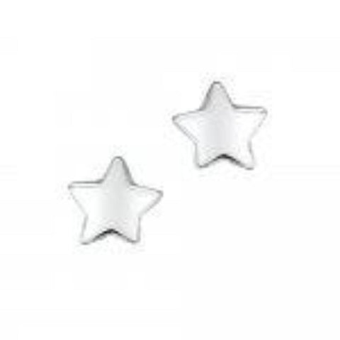 Jo for Girls  Sterling Silver Star Earrings - Violetmai Jewellery and Gifts