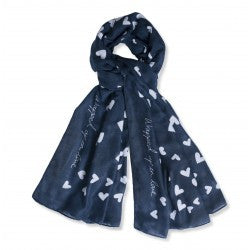 Wrapped up in love Scarf by Katie Loxton