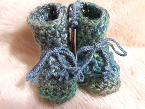 Emerald Dreams 6-12 Months Slippers