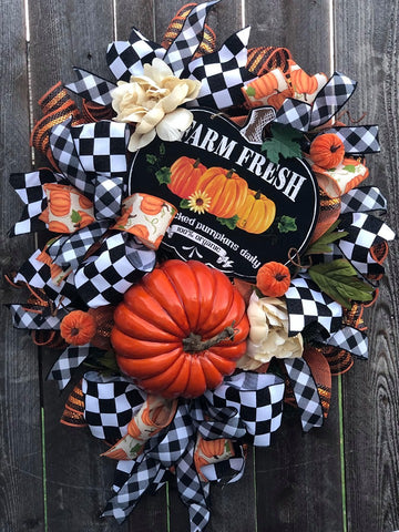 Farm Fresh Fall Wreath Kit