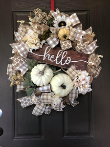Hello Fall Wreath Kit