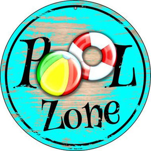 Pool Zone Sign