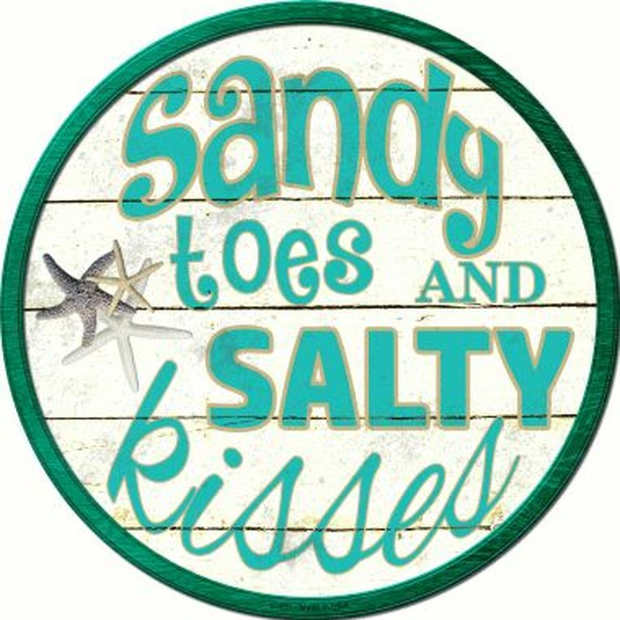 Sandy Toes Sign