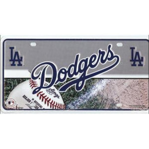 Los Angeles Dodgers MLB License Plate
