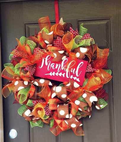 Thankful Wreath Kit