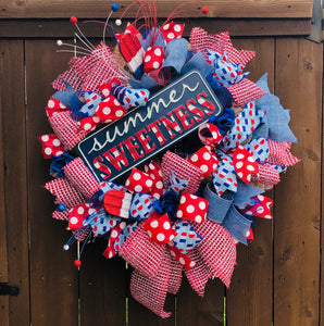 Summer Sweetness Wreath